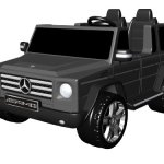 National-Products-12V-Black-Mercedes-Benz-G-Class-Battery-Operated-Ride-on-0