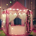 Otmake-Indoor-Easy-Assemble-Hexagon-Play-Tent-For-Children-Princess-Castle-Play-Tent-0-1