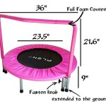 PLENY-36-Kids-Mini-Trampoline-with-Handle-Safety-and-Durable-Toddler-Trampoline-3-Colors-Available-0-1