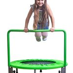 PLENY-36-Kids-Mini-Trampoline-with-Handle-Safety-and-Durable-Toddler-Trampoline-3-Colors-Available-0