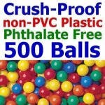 Pack-of-500-Jumbo-3-Standard-Grade-Crush-Proof-Balls-5-Colors-Phthalate-Free-BPA-Free-PVC-Free-non-Recycled-Plastic-0-0