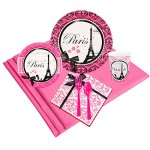 Paris-Eiffel-Tower-Damask-Party-Supplies-Party-Pack-for-32-0