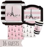 Paris-Ooh-La-La-Paris-Themed-Baby-Shower-or-Birthday-Party-Tableware-Plates-Cups-Napkins-Bundle-for-16-0