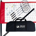 Park-Sun-Sports-Portable-Outdoor-Badminton-Net-System-with-Carrying-Bag-and-Accessories-Sport-Series-0