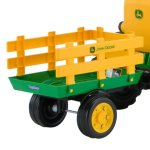 Peg-Perego-John-Deere-Ground-Force-Tractor-with-Trailer-0-0