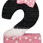 Pink-Black-Number-Two-Pinata-0