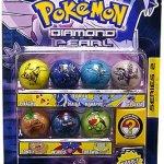 Pokemon-Jakks-Pacific-Marbles-Series-2-Set-1-Dialga-Manaphy-Palkia-Turtwig-Bonsly-Pikachu-Weavile-0