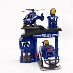 Police-Station-PlaysetPUQU-Future-City-Protector-Police-Deluxe-Playset-Creativity-Learning-Educational-Toy-0-1