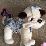 Poochie-Co-Plush-Purse-BrownTan-Dog-0