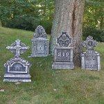 Prextex-Pack-of-4-Halloween-Dcor-22-RIP-Graveyard-Lightweight-Foam-Tombstone-Halloween-Decorations-RIP-0-1