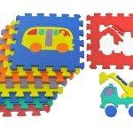 ProSource-Kids-On-The-Move-Interlocking-Puzzle-9-Tiles-Foam-Play-Mat-0-0