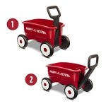 Radio-Flyer-My-1st-2-in-1-Wagon-Ride-On-Red-0-0