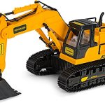 Remote-Control-Excavator-Toy-Truck-with-Flashing-Lights-and-SFX-Includes-Transmitter-and-Battery-Charger-Battery-Operated-RC-Toy-Construction-Vehicle-for-Kids-with-Cool-Sound-Effects-Lighting-0-2
