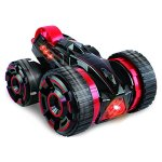 Remote-control-Stunt-Car-Double-face-work-30kmh-rapid-stunt-roller-car-all-terrian-suitable-for-competition-with-lightRed-0