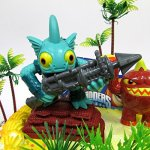 SKYLANDERS-Themed-Birthday-Cake-Topper-Set-Featuring-Skylander-Figures-and-Decorative-Themed-Accessories-0-2