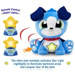 STARSHINE-WATCHDOGS-Soothing-Talking-Stuffed-Animal-Sleep-Toy-for-Boys-w-Remote-Control-Kids-LED-Night-Light-Story-Book-Limited-BONUS-includes-Coloring-Pages-3rd-FREE-Nightlight-blue-0-1