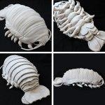 Sea-Creature-Giant-Isopod-Realistic-Plush-Doll-and-charm-strap-0
