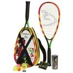 Speedminton-S600-Set-Original-Speed-Badminton-Crossminton-Starter-Set-including-2-rackets-3-Speeder-Speedlights-Bag-0