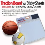StepNGrip-Courtside-Shoe-Grip-Traction-Board-Includes-30-Sticky-Sheets-and-Shoe-Scuff-Allows-Court-Grip-for-Basketball-Volleyball-Sticky-Stop-Power-0-0