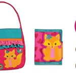 Stephen-Joseph-Girls-Quilted-Purse-Wallet-Coin-4-Pc-Set-0