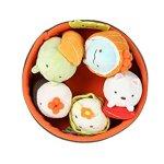 Sumikko-Gurashi-by-San-X-Sushi-Bowl-Neko-Penguin-Tonkatsu-Tokage-Lizard-Weed-White-Bear-plush-doll-stuff-animal-Authentic-Licensed-Product-0-0