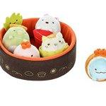 Sumikko-Gurashi-by-San-X-Sushi-Bowl-Neko-Penguin-Tonkatsu-Tokage-Lizard-Weed-White-Bear-plush-doll-stuff-animal-Authentic-Licensed-Product-0