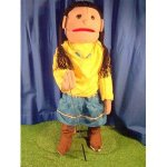 Sunny-Toys-GS4597-28-In-American-Indian-Girl-Full-Body-Puppet-0