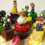Super-Mario-Brothers-18-Piece-Deluxe-Birthday-Cupcake-Topper-Set-Featuring-Shy-Mario-Goomba-Yoshi-Bomb-Luigi-Koopa-Troopa-Mushroom-Princess-Daisy-Lakitu-Spiny-and-Themed-Decorative-Accessories-Cupcake-0-0