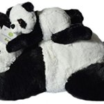 Super-Soft-Giant-Panda-Bears-Stuffed-Animals-Set-by-Exceptional-Home-Zoo-18-Pandas-with-Baby-Teddy-Bear-Cub-Kids-Toys-Plush-Animal-Gifts-Children-Give-Happiness-0-0