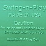 Swing-N-Play-High-Back-Full-Bucket-Swing-with-Coated-Chain-and-2-Snap-Hooks-0-0