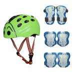 SymbolLife-Skateboard-Helmet-Protection-Gear-Set-Knee-and-Elbow-Pads-with-Wrist-Guards-for-Kids-Outdoor-Multi-sports-Cycling-Rollerblading-inline-Skating-Skateboard-Baseball-Bike-BMX-0