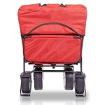 The-Best-Feature-Quality-NEW-4th-GENERATION-Collapsible-Folding-Wagon-with-Canopy-Padded-Bottom-Auto-Safety-Locks-Spring-Bounce-Brake-Stand-EVA-Wide-Tire-0-2