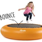 The-Shrunks-Inflatable-2-in-1-Safety-Bouncer-Pool-Portable-Indoor-or-Outdoor-Use-with-SOFT-bounce-for-Toddlers-Safety-Orange-72-x-72-inches-0-0