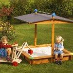 Tierra-Garden-G31001-Large-Childrens-Wooden-Sandbox-With-Roof-0-1