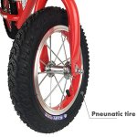 Toddler-Balance-Bike-12-Air-Inflated-Tires-Glider-bike-for-Kids-2-5-Years-Old-by-Zebrum-Quick-Adjust-Padded-Seat-No-Pedals-Red-0-2