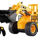 Top-Race-TR-113-5-Channel-Full-Functional-Front-Loader-Electric-RC-Remote-Control-Construction-Tractor-with-Lights-Sounds-0
