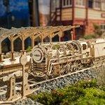 UGEARS-Bundle-3-in-1-Locomotive-Railway-Platform-Rails-Mechanical-3D-Puzzle-Eco-Friendly-Gift-Brainteaser-DIY-Teens-Adults-Boys-Kids-Toys-0