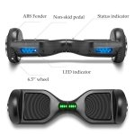 VEEKO-Hoverboard-UL2272-Certified-Electric-Smart-Self-Balancing-Scooter-with-LED-Lights-Power-Motor-65-TWO-Wheels-0-2