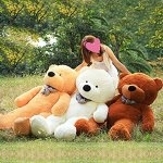 Vercart-4-Foot-47-Light-Brown-Giant-Huge-Cuddly-Stuffed-Animals-Plush-Teddy-Bear-Toy-Doll-0-0