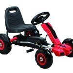 Vroom-Rider-Power-Pedal-Go-Kart-Ride-Ons-with-Pneumatic-Tire-Red-0