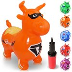 WALIKI-TOYS-Bouncy-Horse-Benny-the-Jumping-Bull-Inflatable-Animal-Hopper-Hopping-Horse-riding-horse-for-kids-pump-included-0