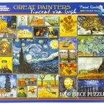 White-Mountain-Puzzles-Great-Painters-Collection-Vincent-Van-Gogh-1000-Piece-Jigsaw-Puzzle-0-2