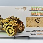 Wood-Trick-QUAD-BIKE-ATV-Mechanical-Models-3D-Wooden-Puzzles-DIY-Toy-Assembly-Gears-Constructor-Kits-for-Kids-Teens-and-Adults-0-1