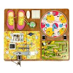 Wooden-Activity-Busy-Board-for-Girls-0
