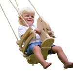 Wooden-Horse-Swing-Set-for-Toddlers-Smooth-Birch-Wood-with-Natural-Cotton-Ropes-Outdoor-Indoor-Swing-Eco-Conscious-Toddler-Bucket-Swing-Chair-For-Baby-6-Months-to-3-Years-Old-by-EcoTribe-0-2