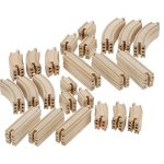 Wooden-Train-Track-100-Piece-Pack-100-Compatible-with-All-Major-Brands-including-Thomas-Wooden-Railway-System-By-Right-Track-Toys-0-1