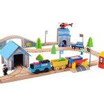 Wooden-Train-Track-Set-100-Compatible-with-Thomas-Brio-Chuggington80-pcs-Wooka-Toddler-Toys-for-kids-0