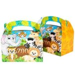 Zoo-Animal-Safari-Party-Supplies-and-Favors-12-Treat-Boxes-12-Animal-Masks-144-Tattoos-12-Paddle-Balls-12-Make-Zoo-Stickers-12-Notebooks-100-Stickers-24-Stampers-1-Zoo-Animal-Tablecloth-0-1