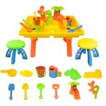 boppi-Castle-Childrens-Sand-and-Water-Table-with-12-Play-Accessories-2-Stools-0