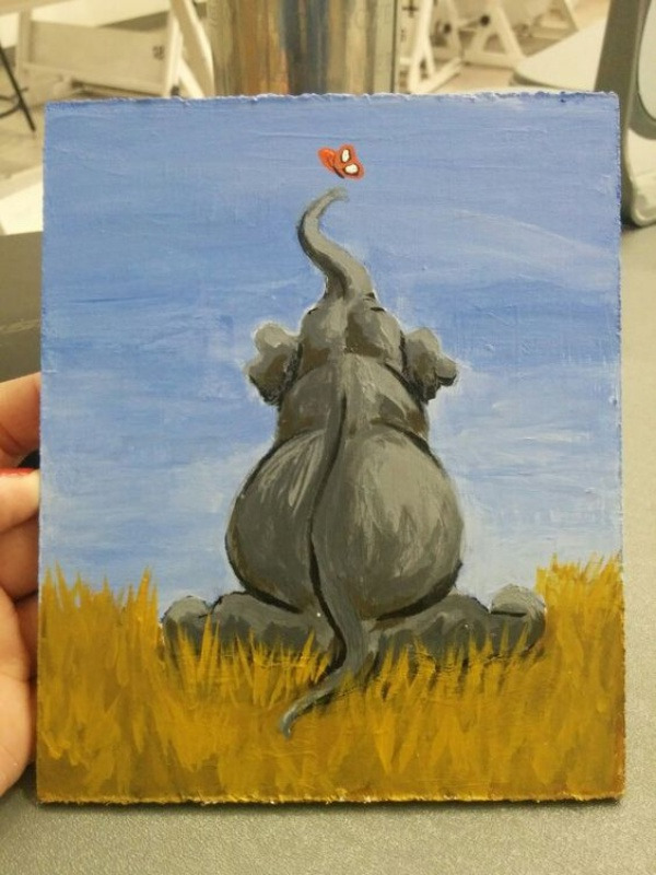 Easy Canvas Painting Ideas Animals